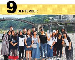 キャンパスカレンダー9月