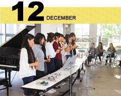 キャンパスカレンダー12月