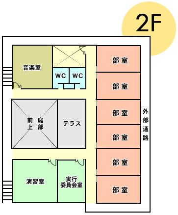 クラブハウス平面図